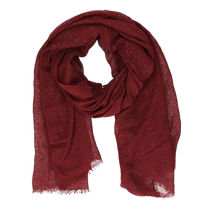 Šátek s jemnými třpytkami bata, červená, 909-5198 - 13