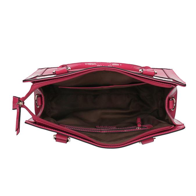 Růžová dámská kabelka bata, růžová, 961-1610 - 15
