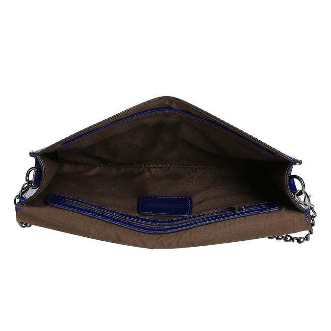 Modré dámské psaníčko bata, modrá, 961-9624 - 15