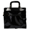 Černá dámská kabelka do ruky bata, černá, 961-6606 - 26