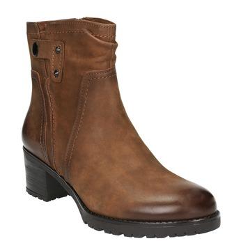 Dámská kotníčková obuv bata, hnědá, 696-4603 - 13