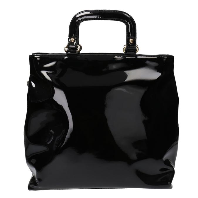 Černá dámská kabelka do ruky bata, černá, 961-6606 - 19