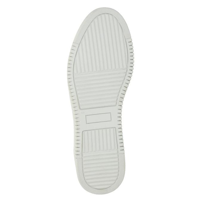 Bílé kožené tenisky bata, bílá, 528-1632 - 26