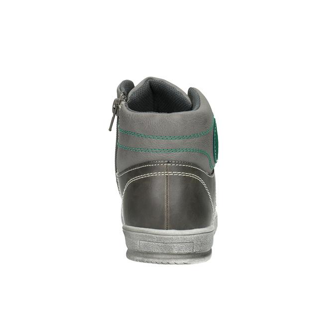 Dětské kotníčkové tenisky šedé mini-b, šedá, 411-2600 - 17