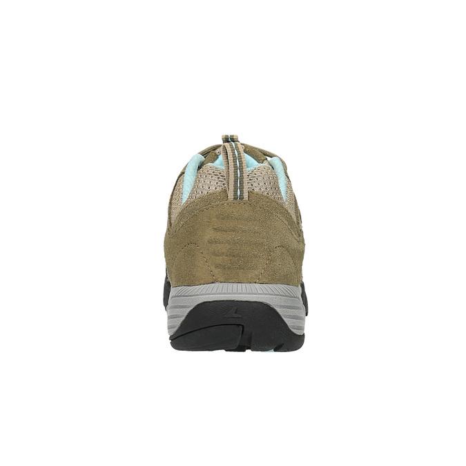 Dámská kožená obuv v Outdoor stylu power, béžová, 503-3829 - 17