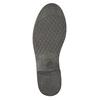 Dámská kožená kotníčková obuv bata, černá, 594-6611 - 19