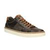 Pánské kožené tenisky bata, hnědá, 846-4605 - 13