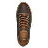 Pánské kožené tenisky bata, hnědá, 846-4605 - 19