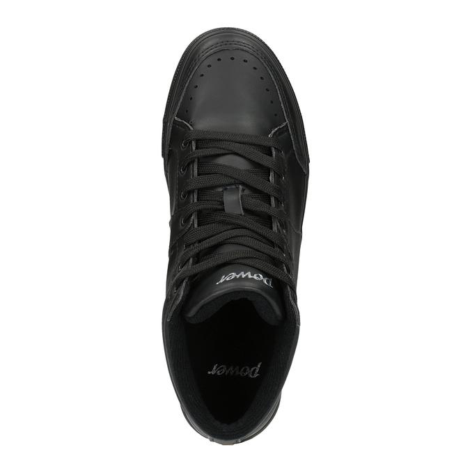 Černé kotníčkové tenisky power, černá, 501-6400 - 19