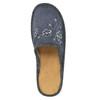Domácí pantofle s výšivkou bata, modrá, 579-2280 - 19