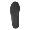 Kotníčková obuv s nařasením na nártu clarks, černá, 611-6006 - 26