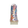 Kožená kotníčková obuv s barevným květinovým vzorem weinbrenner, 596-2640 - 17