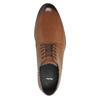 Pánské kožené polobotky bata, hnědá, 826-3643 - 19