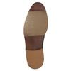 Kožené pánské polobotky bata, černá, 826-6643 - 26