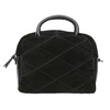 Malá kožená kabelka s popruhem bata, černá, 963-6133 - 26