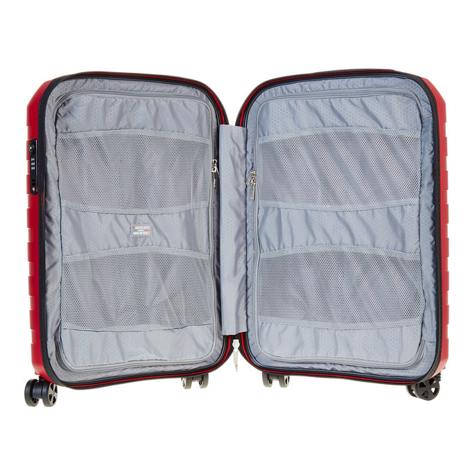 Cestovní kufr na kolečkách červený roncato, červená, 960-5605 - 15