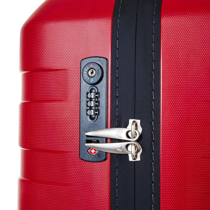 Skořepinový kufr na kolečkách roncato, červená, 960-5603 - 17