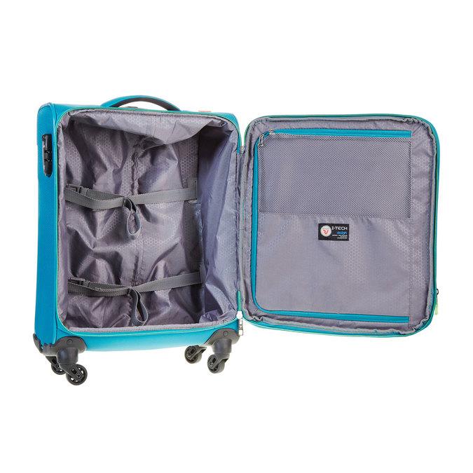 Cestovní kufrt na kolečkách roncato, tyrkysová, 969-7638 - 15