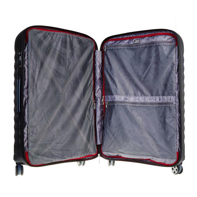 Černý cestovní kufr na kolečkách roncato, černá, 960-6600 - 15