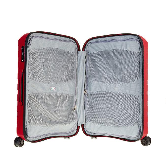 Cestovní kufr na kolečkách roncato, červená, 960-5604 - 15