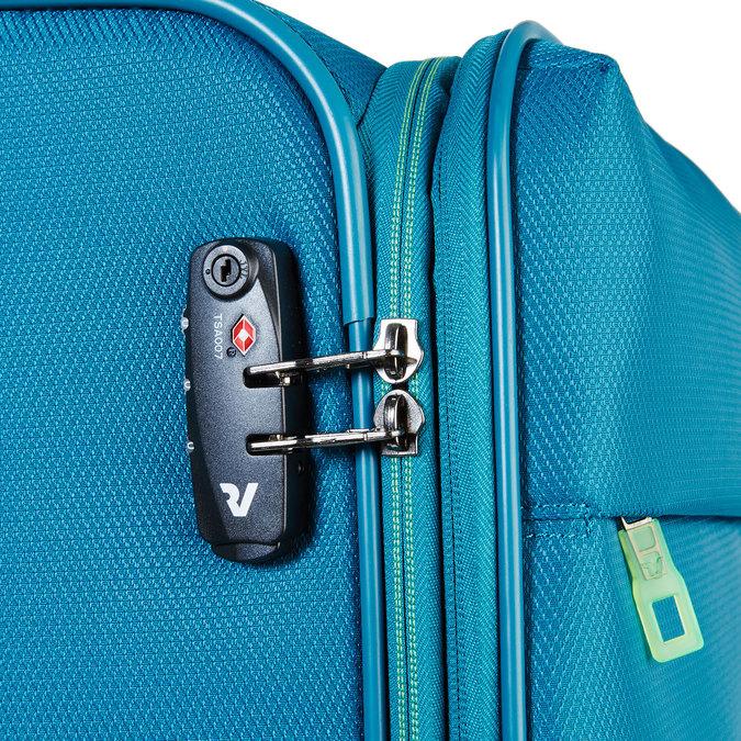 Modrý cestovní kufr roncato, tyrkysová, 969-7636 - 17