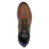 Kožená kotníčková obuv bata, hnědá, 896-4645 - 19