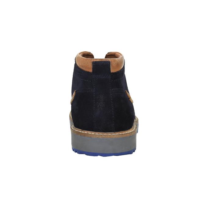 Pánská obuv ve stylu Chukka Boots bata, modrá, 893-9652 - 17