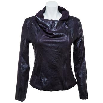 Dámské ležérní sako s límcem bata, černá, 979-6635 - 13