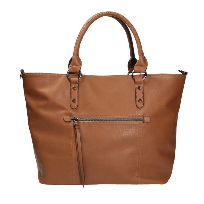 Hnědá dámská kabelka bata, hnědá, 961-3857 - 26