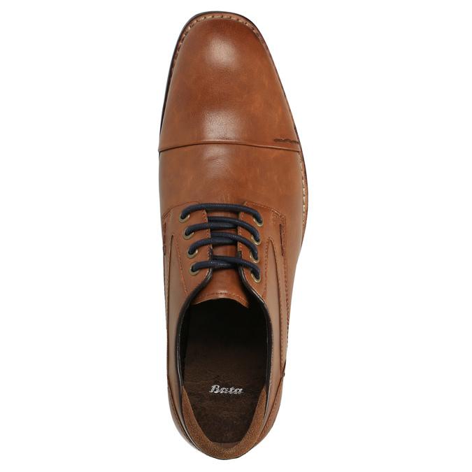 Pánské ležérní polobotky bata, hnědá, 821-3600 - 19