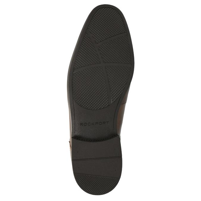 Pánská kotníčková obuv kožená rockport, hnědá, 824-3019 - 26