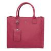 Kožená červená kabelka picard, růžová, 966-5011 - 26