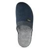 Pánská domácí obuv bata, modrá, 879-9600 - 17