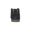 Ležérní kožené polobotky ke kotníkům bugatti, modrá, 826-9009 - 17