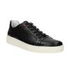 Ležérní kožené tenisky bata, černá, 844-6629 - 13