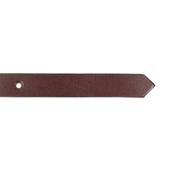 Kožený opasek s menší sponou bata, červená, 954-5100 - 16