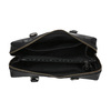 Černá kožená kabelka s pevnými uchy royal-republiq, černá, 964-6014 - 15