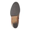 Dámské kožené kozačky bata, hnědá, 794-4447 - 26