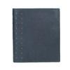 Kožená peněženka s perforací bata, modrá, 944-9175 - 26