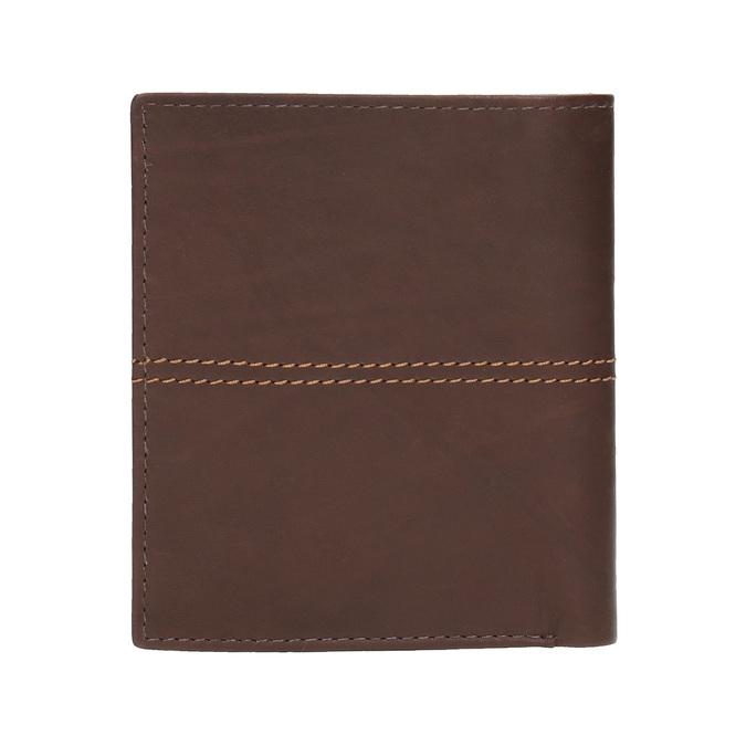 Prošívaná pánská peněženka bata, hnědá, 944-3176 - 19