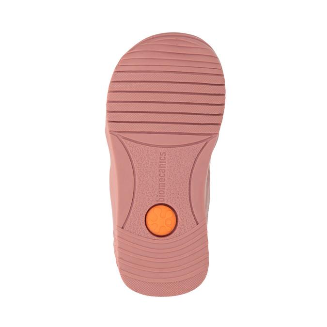 Dívčí kožená obuv růžová biomecanics, růžová, 124-5005 - 26