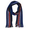 Pánská šála s pruhy bata, modrá, 909-9227 - 13