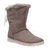 Dámské zimní boty s kožíškem weinbrenner, hnědá, 596-4334 - 13