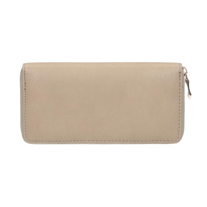 Elegantní peněženka s ozdobou bata, béžová, 941-8150 - 19