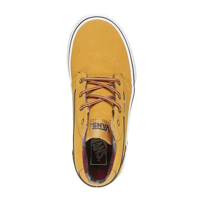 Dětské tenisky Vans vans, žlutá, 401-8235 - 19