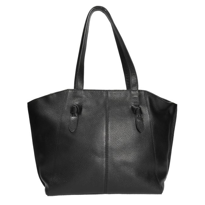 Černá kožená kabelka bata, černá, 964-6205 - 19