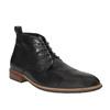 Kožená kotníčková obuv bata, černá, 894-6665 - 13
