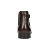 Pánská kožená kotníčková obuv bata, hnědá, 896-4655 - 17