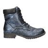 Dětská zimní obuv bull-boxer, modrá, 491-9008 - 15