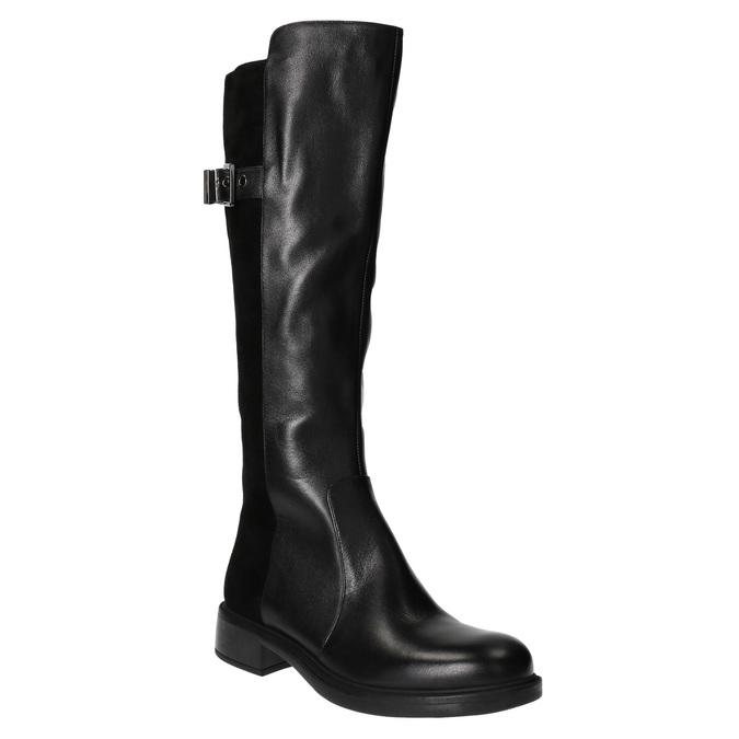 Dámské kozačky v jezdeckém stylu bata, černá, 594-6633 - 13